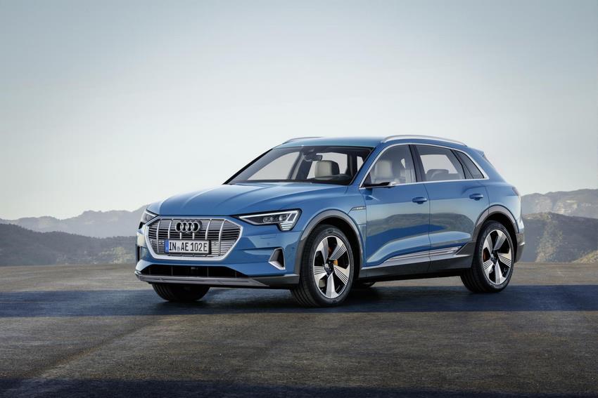 El bello Audi e-tron