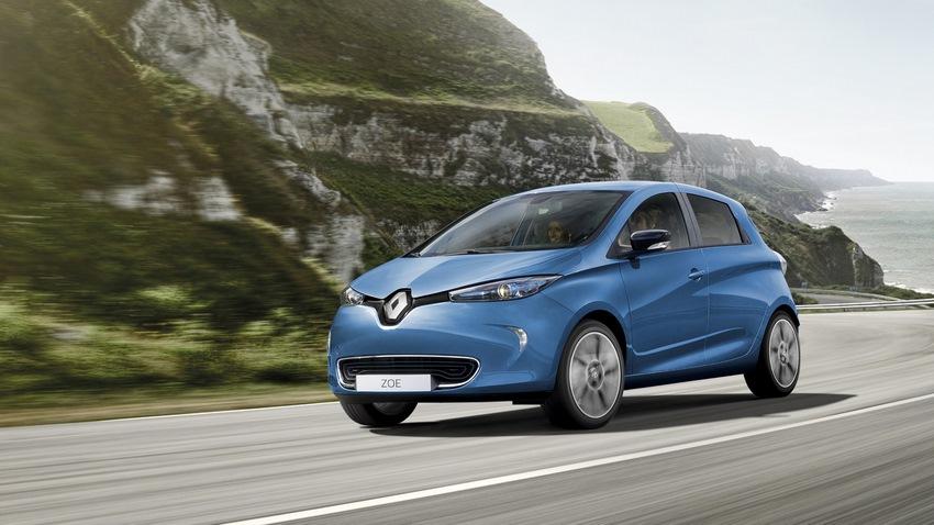 El Renault Zoe uno de los autos eléctricos con más autonomía del mercado