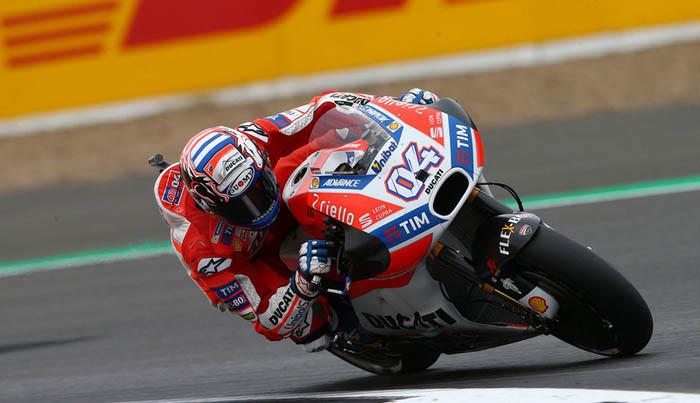 Andrea Dovisioso sobre Ducati