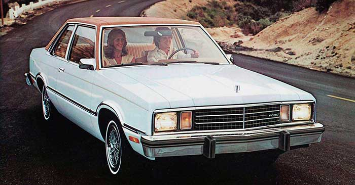 Ford Fermon Ford Fairmont Elite Ii Sedan 1982 14319