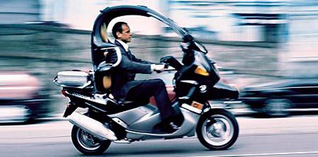 bmw c1 200 executive una scooter con techo. Black Bedroom Furniture Sets. Home Design Ideas