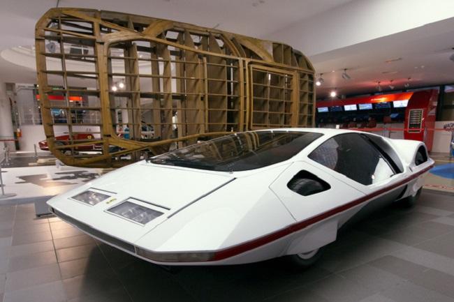 Ferrari 512S Modulo: el coche más peculiar jamás creado por la marca italiana
