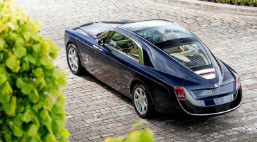 Coche Sweptail exclusivo de Rolls Royce