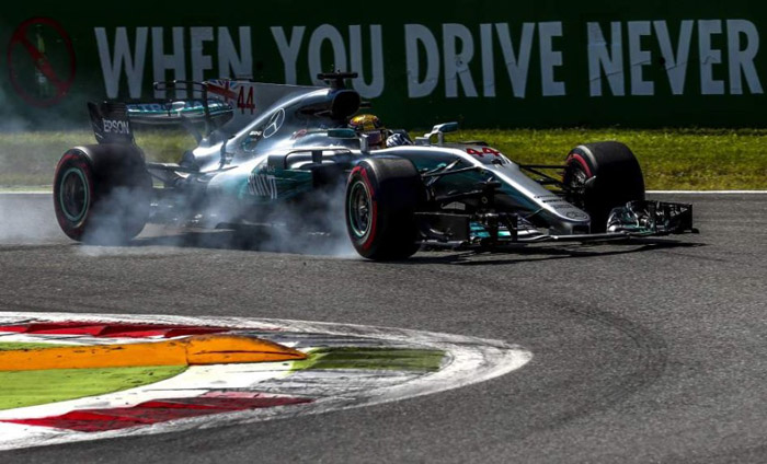 Mercedes en Monza