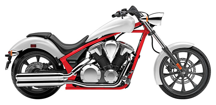 Una Nueva Chopper De Honda Excelencias Del Motor