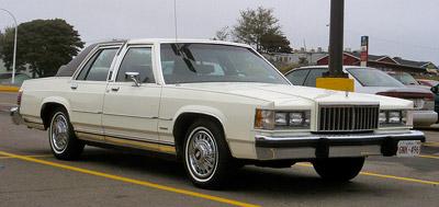 mercury grand marquis la historia excelencias del motor rh excelenciasdelmotor com 1983 Mercury Grand Marquis 1992 Mercury Grand Marquis