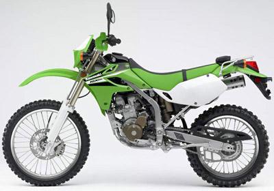 Kawasaki KLX 250. Pensada para todo tipo de terreno